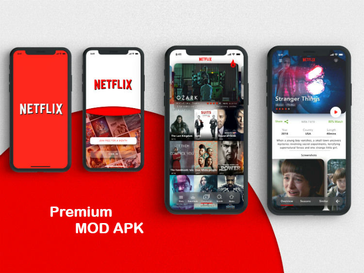 Download Netflix Premium Mod APK