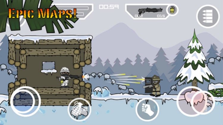Download Doodle Army 2 : Mini Militia MOD