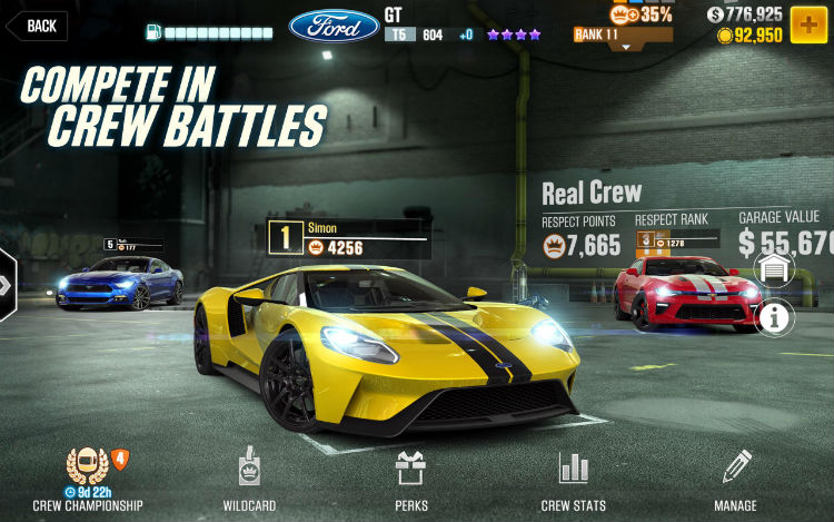 CSR Racing 2 for Android