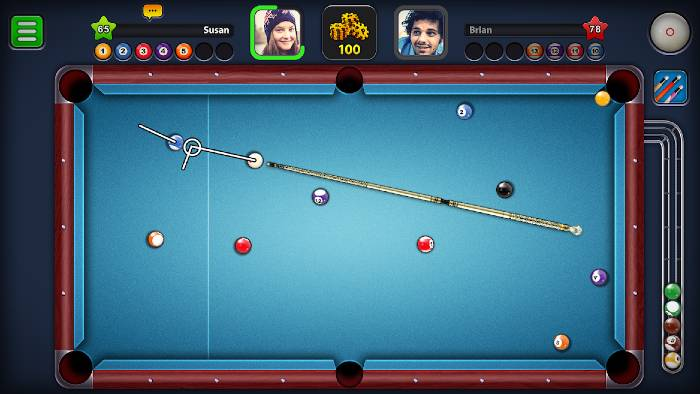 8 Ball Pool Mod Long Lines
