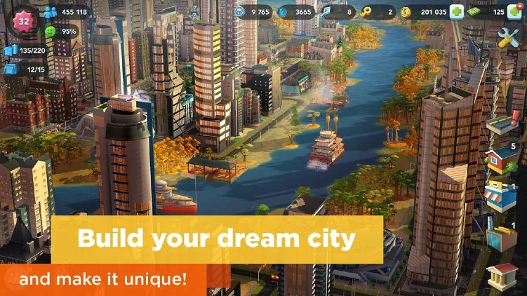 SimCity BuildIt Unlimited Money Mod