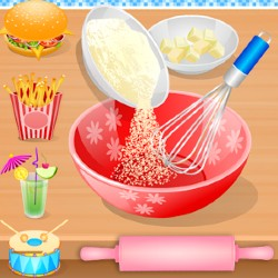 Cooking in the Kitchen - Kids Cooking Girl Games