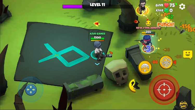 Warriors.io - Battle Royale Action for Android