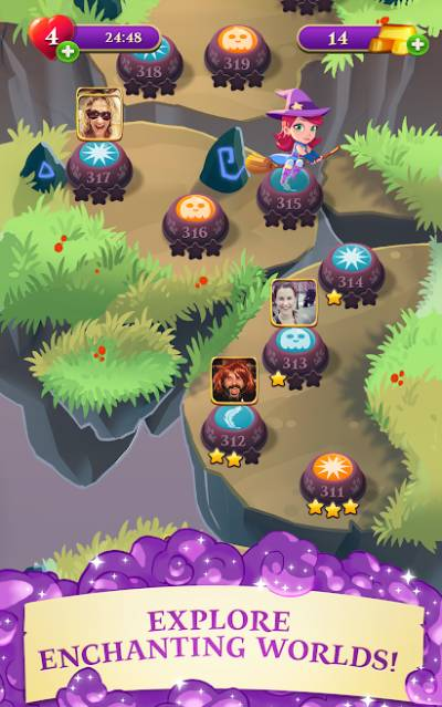 Bubble Witch 3 Saga Unlimited Lives Mod