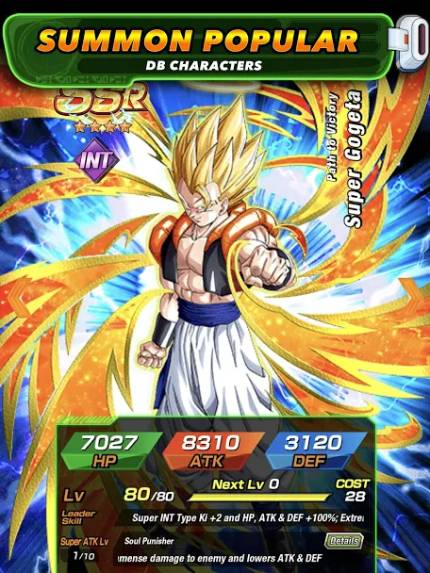Dragon Ball Z Dokkan Battle God Mod