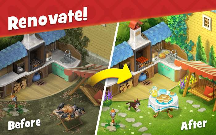 Gardenscapes Mod Unlimited Coins
