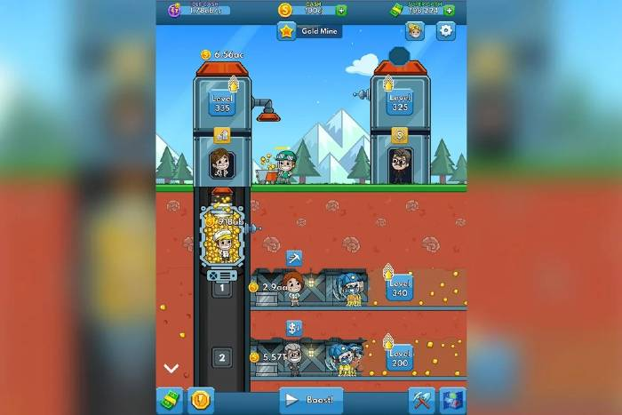 Idle Miner Tycoon Unlimited Money Mod