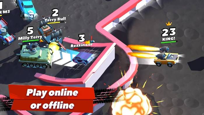 Crash of Cars Mod Unlimited Coins