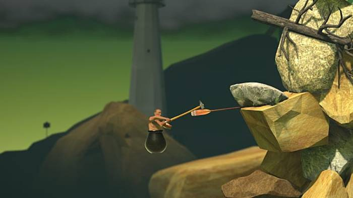 Getting Over It with Bennett Foddy Unlocked