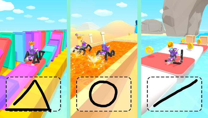 Scribble Rider MOD Unlimited Coins