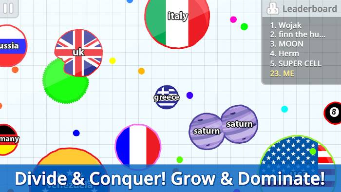 agar.io mod apk latest version