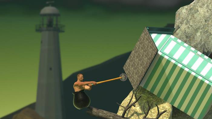Getting Over It with Bennett Foddy Hack