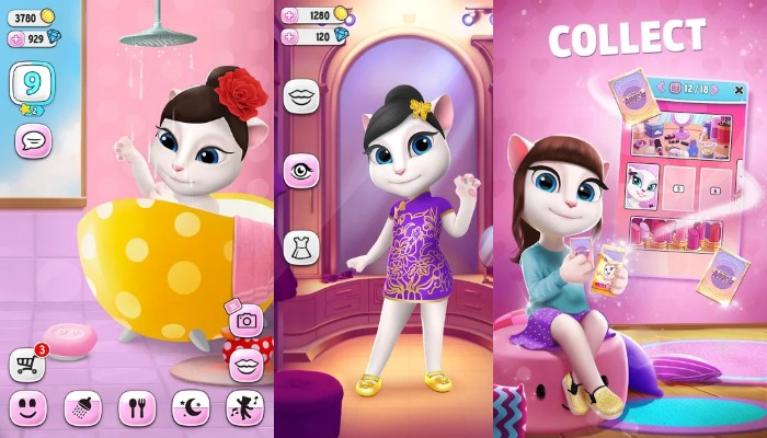 my talking angela unlimited coins and diamonds