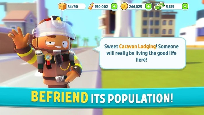 City Mania Town Building Game
