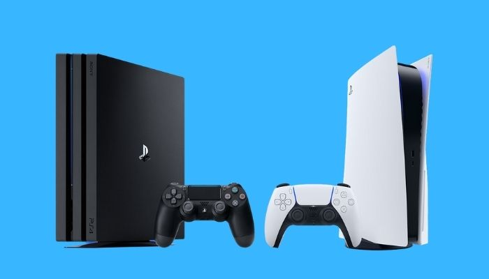 PS5 Graphics with PS4 Graphics