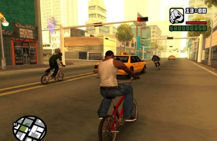 Mission in GTA San Andreas